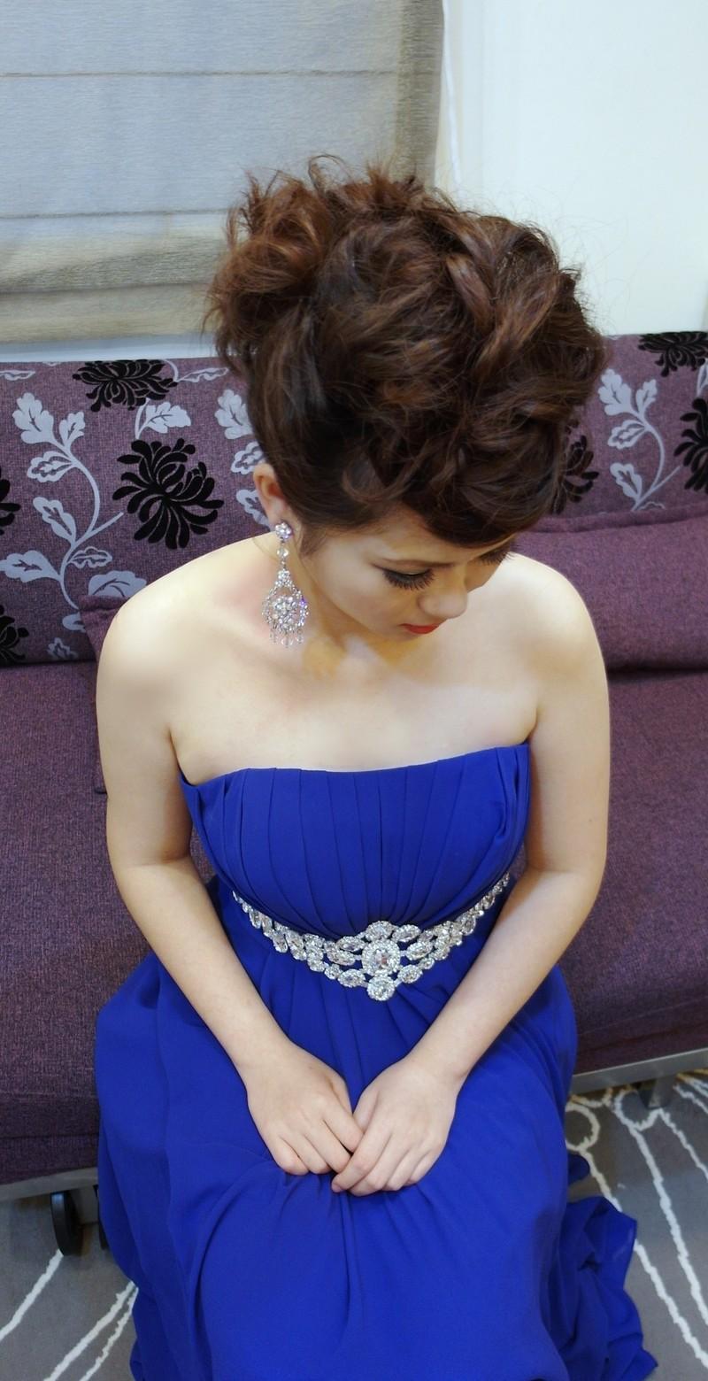 時尚龐克晚宴造型~紅寶石(短髮新娘)(編號:427696) - 薇之Monica。幸福的旅程 - 結婚吧