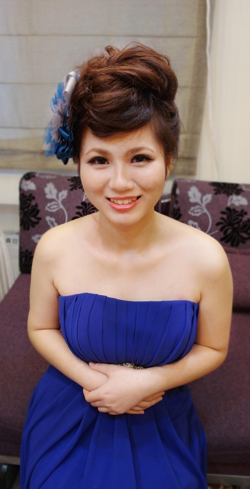 時尚龐克晚宴造型~紅寶石(短髮新娘)(編號:427697) - 薇之Monica。幸福的旅程 - 結婚吧