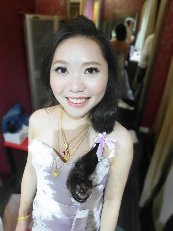 浪漫緞帶編髮~怡禎 (青青會館)(編號:427698) - 薇之Monica。幸福的旅程 - 結婚吧