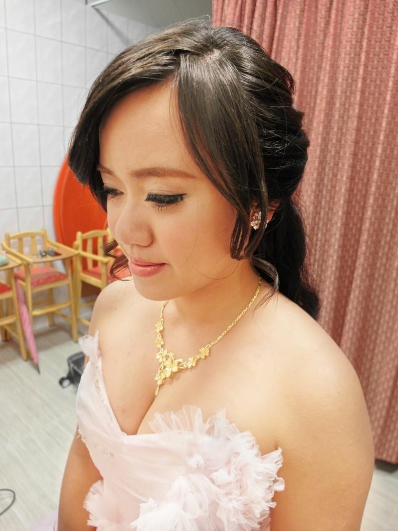 粉橘浪漫敬酒造型-幸珊(編號:427712) - 薇之Monica。幸福的旅程 - 結婚吧
