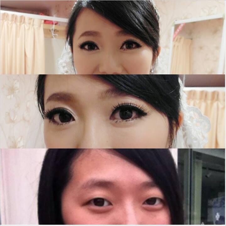 ♥ 眼型調整/妝前妝後 ♥(編號:427743) - 薇之Monica。幸福的旅程 - 結婚吧
