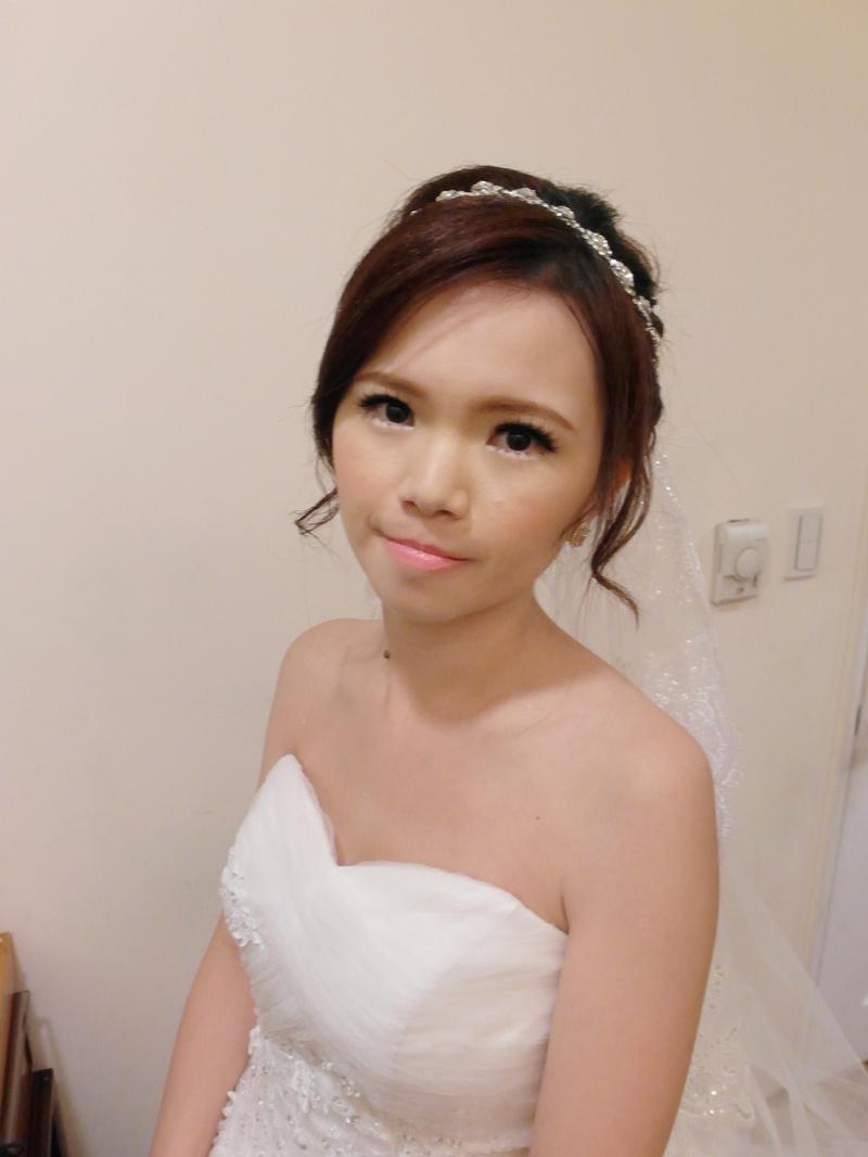甜美白紗進場造型-嘉容(編號:427752) - 薇之Monica。幸福的旅程 - 結婚吧