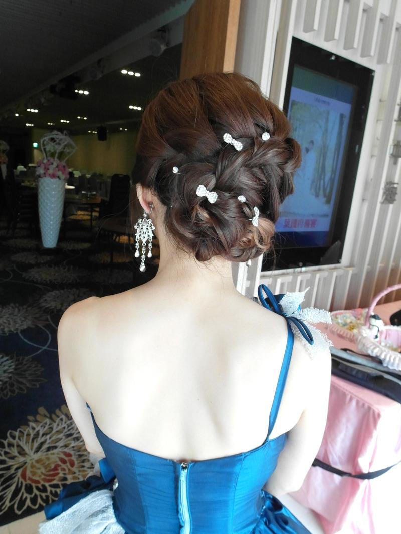 送客典雅編髮造型(全國麗園餐廳)(編號:427759) - 薇之Monica。幸福的旅程 - 結婚吧