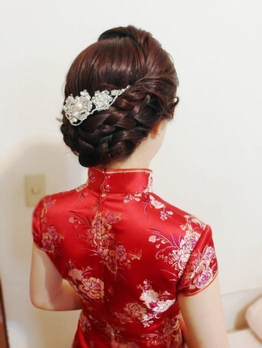 旗袍典雅編髮造型(歐華餐廳)(編號:427793) - 薇之Monica。幸福的旅程 - 結婚吧