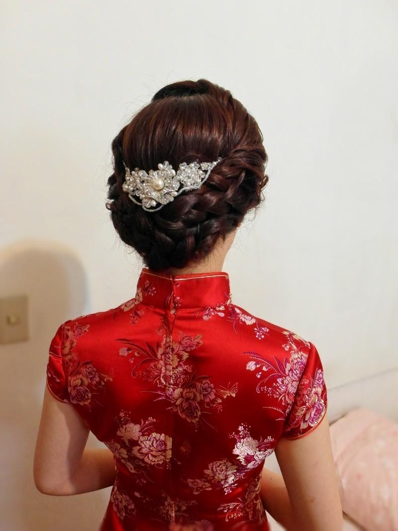 旗袍典雅編髮造型(歐華餐廳)(編號:427794) - 薇之Monica。幸福的旅程 - 結婚吧