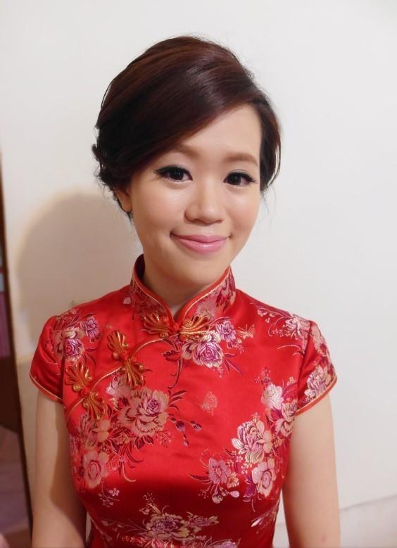 旗袍典雅編髮造型(歐華餐廳)(編號:427799) - 薇之Monica。幸福的旅程 - 結婚吧
