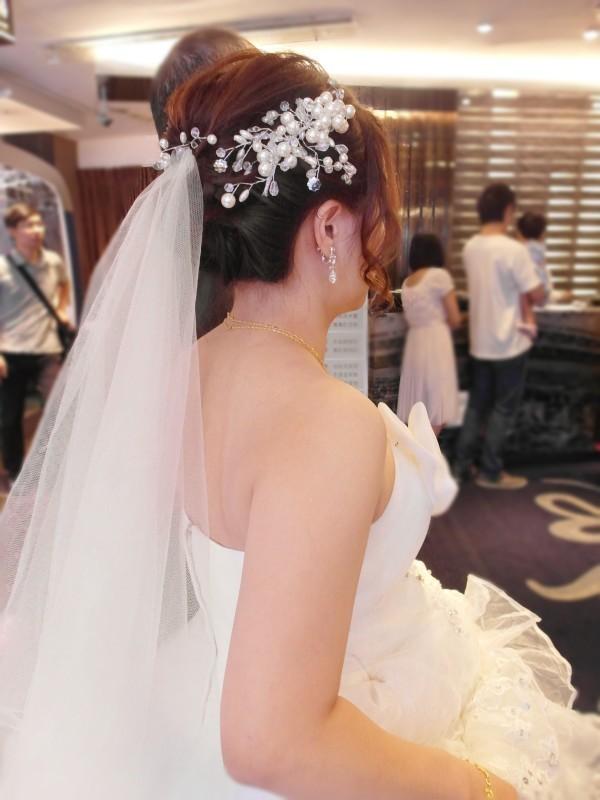 白紗經典造型(短髮新娘)(編號:427808) - 薇之Monica。幸福的旅程 - 結婚吧