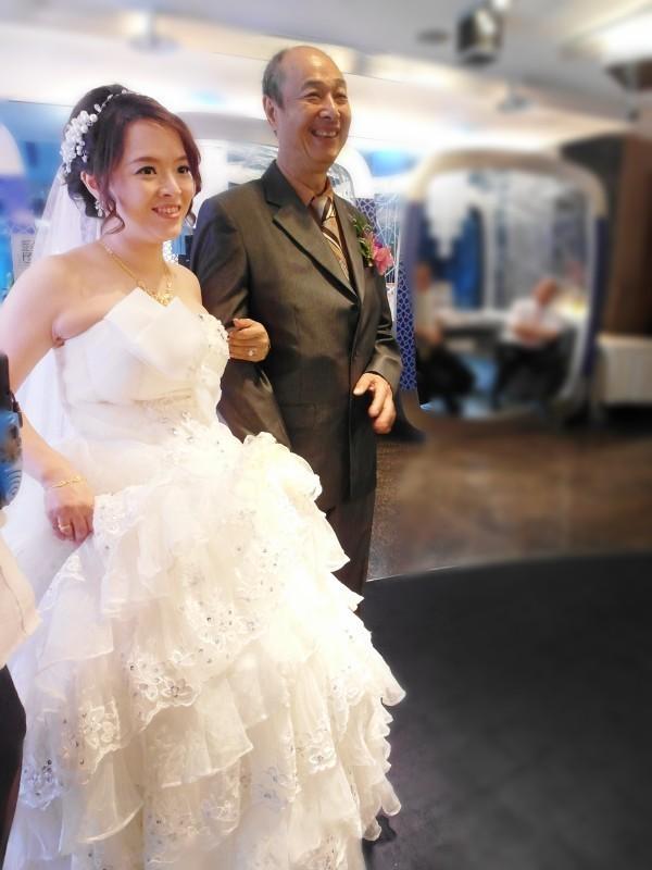 白紗經典造型(短髮新娘)(編號:427810) - 薇之Monica。幸福的旅程 - 結婚吧一站式婚禮服務平台