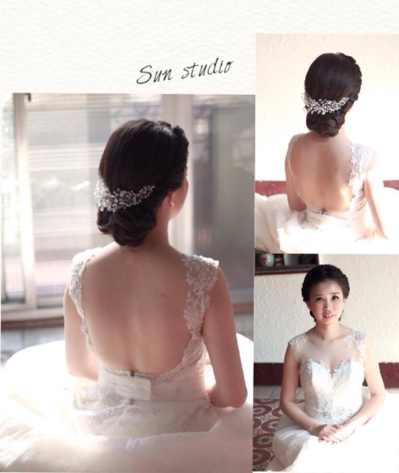 【SUN Studio新娘秘書】婚宴造型-雯鈴(編號:428146) - SUN Studio-珊珊 新娘秘書 - 結婚吧