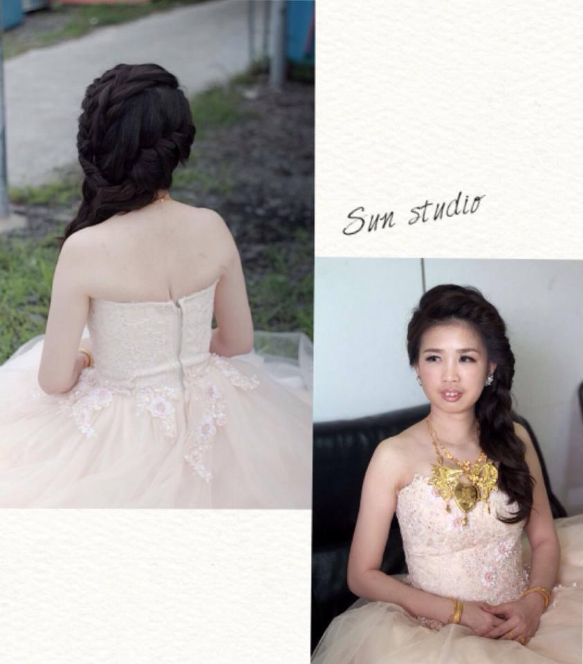 【SUN Studio新娘秘書】婚宴造型-雯鈴(編號:428147) - SUN Studio-珊珊 新娘秘書 - 結婚吧