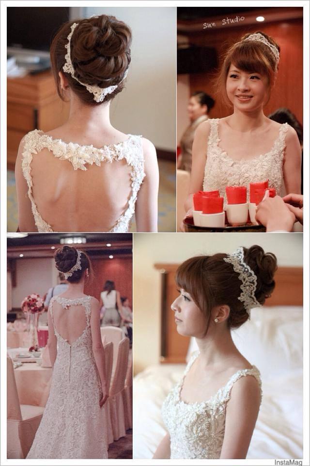 【SUN Studio新娘秘書】婚宴造型-stealy(編號:428153) - SUN Studio-珊珊 新娘秘書 - 結婚吧