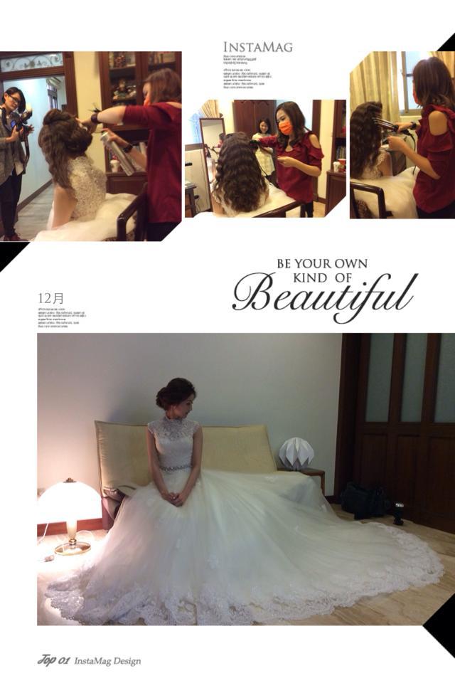 【SUN Studio新娘秘書】婚宴造型-琳伊(編號:428186) - SUN Studio-珊珊 新娘秘書 - 結婚吧