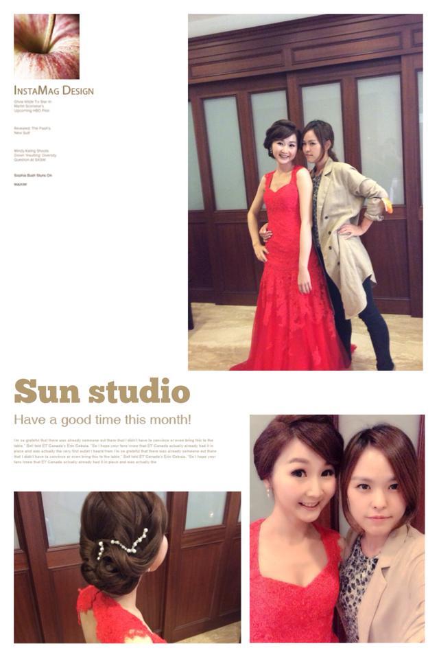 【SUN Studio新娘秘書】婚宴造型-琳伊(編號:428188) - SUN Studio-珊珊 新娘秘書 - 結婚吧