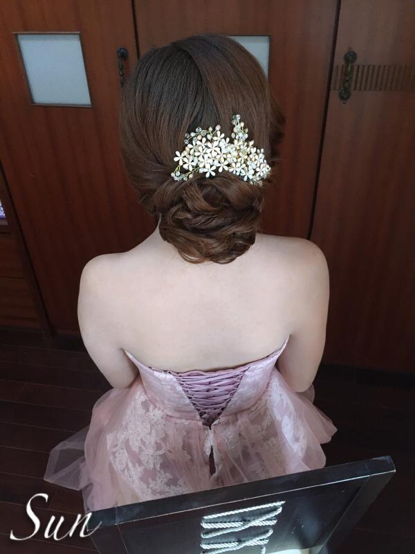 【SUN Studio新娘秘書】婚宴造型-陳鑲(編號:428321) - SUN Studio-珊珊 新娘秘書 - 結婚吧