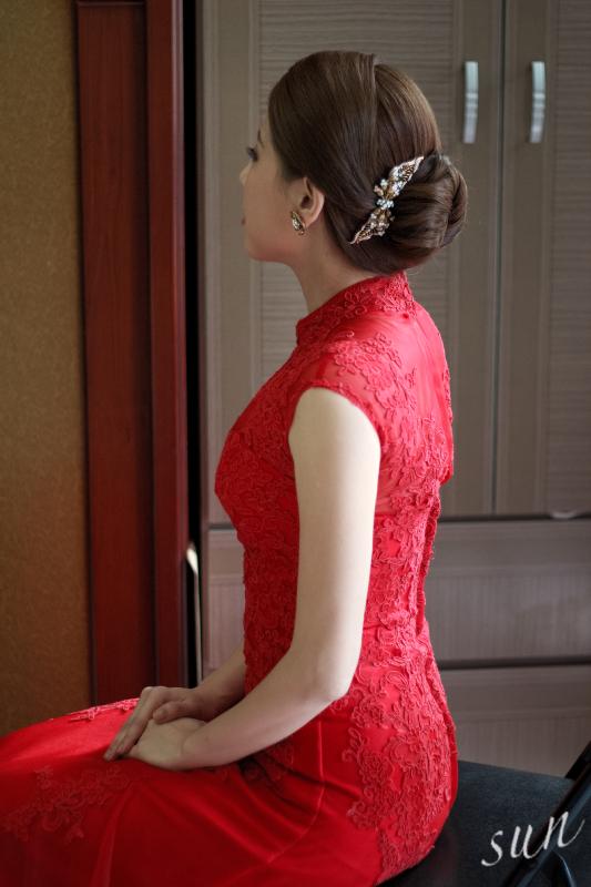 【SUN Studio新娘秘書】婚宴造型-小白(編號:428326) - SUN Studio-珊珊 新娘秘書 - 結婚吧
