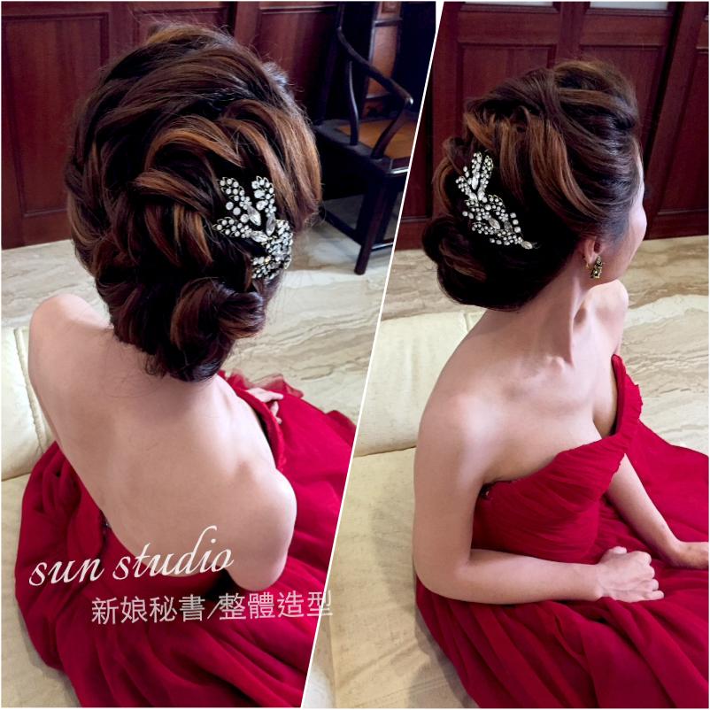 【SUN Studio新娘秘書】婚宴造型-小滋(編號:428330) - SUN Studio-珊珊 新娘秘書 - 結婚吧