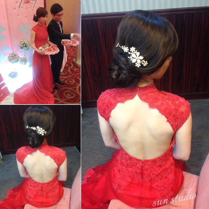 【SUN Studio新娘秘書】婚宴造型-玨伶(編號:428332) - SUN Studio-珊珊 新娘秘書 - 結婚吧