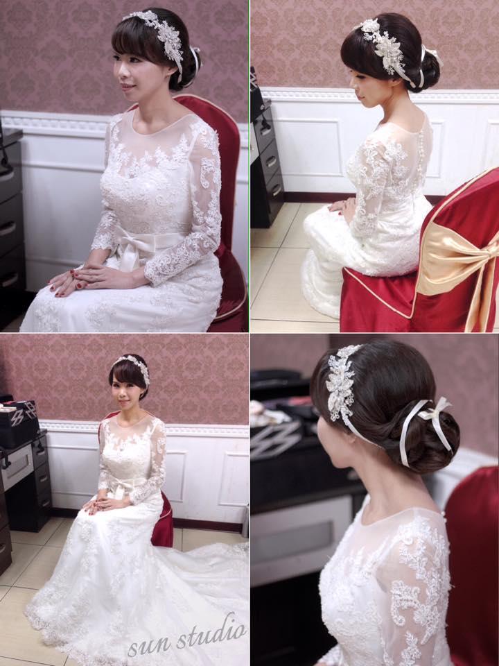 【SUN Studio新娘秘書】婚宴造型-邵軒(編號:428346) - SUN Studio-珊珊 新娘秘書 - 結婚吧