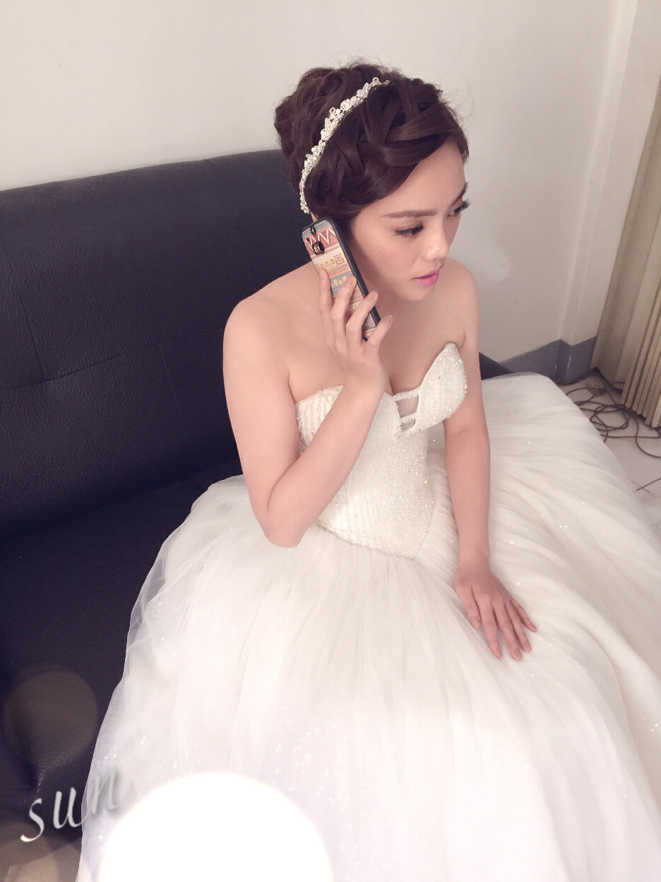 【SUN Studio新娘秘書】婚宴造型-依岑(編號:428549) - SUN Studio-珊珊 新娘秘書 - 結婚吧