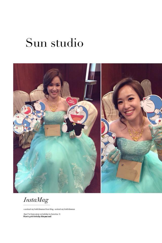 【SUN Studio新娘秘書】婚宴造型-貝珊(編號:428574) - SUN Studio-珊珊 新娘秘書 - 結婚吧