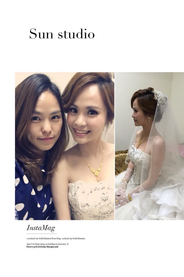 【SUN Studio新娘秘書】婚宴造型-詩雅(編號:428579) - SUN Studio-珊珊 新娘秘書 - 結婚吧