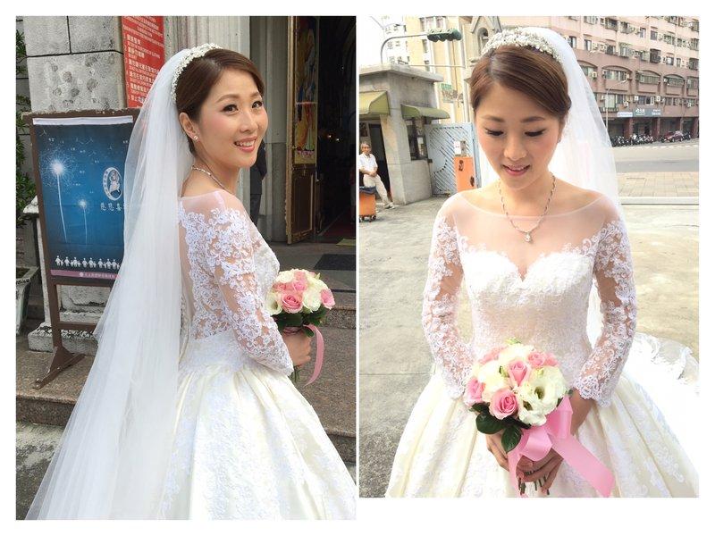 婚禮造型師、新娘秘書作品