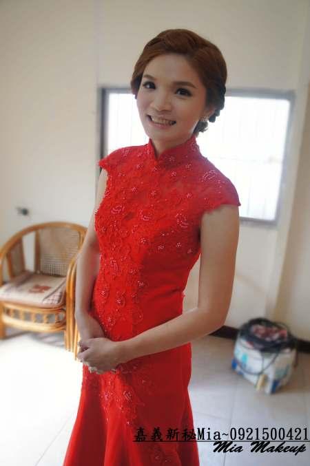 文定造型/紅色禮服