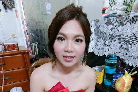 文定造型/婚禮造型/盤髮~嘉義新娘秘書Mia~