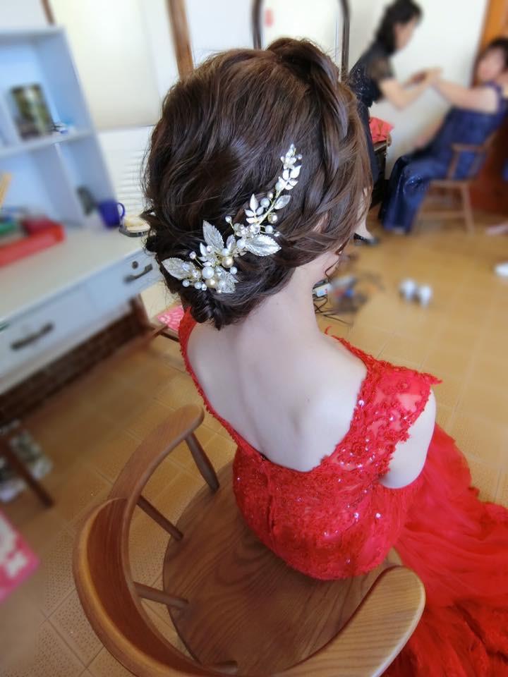婚禮造型/宴會妝髮/個人彩妝作品