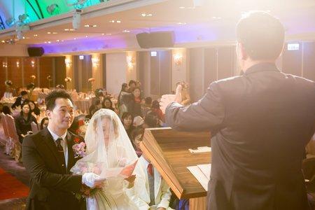 婚禮記錄 健榮&毓真 (新莊富基婚宴會館)