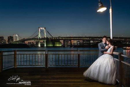 東京海外婚紗︱高雄自助婚紗dna平方婚禮攝影