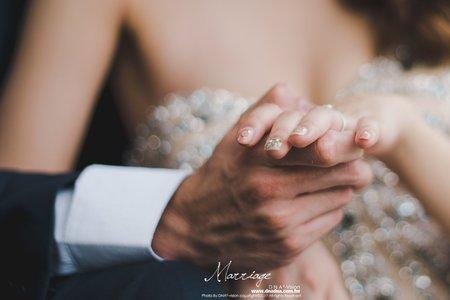 《婚攝》aaron&elsa/宴客後的浪漫︱高雄林皇宮