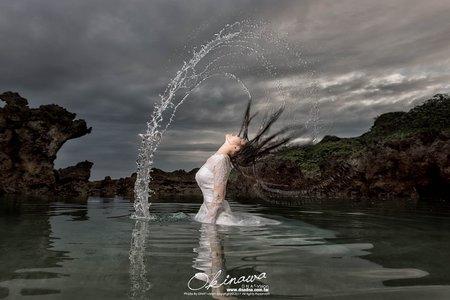 《自助婚紗》沖繩海外婚紗作品