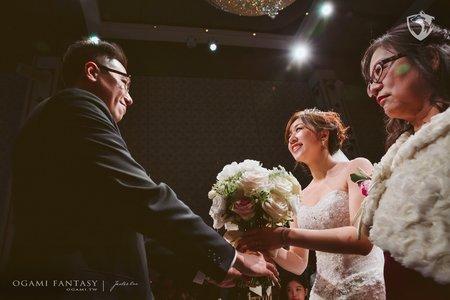 婚禮攝影 | Jim+Anita | 台北@彭園婚宴會館-八德館