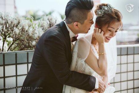 婚禮攝影 | Paul+Nicole | 台北@星靚點花園飯店
