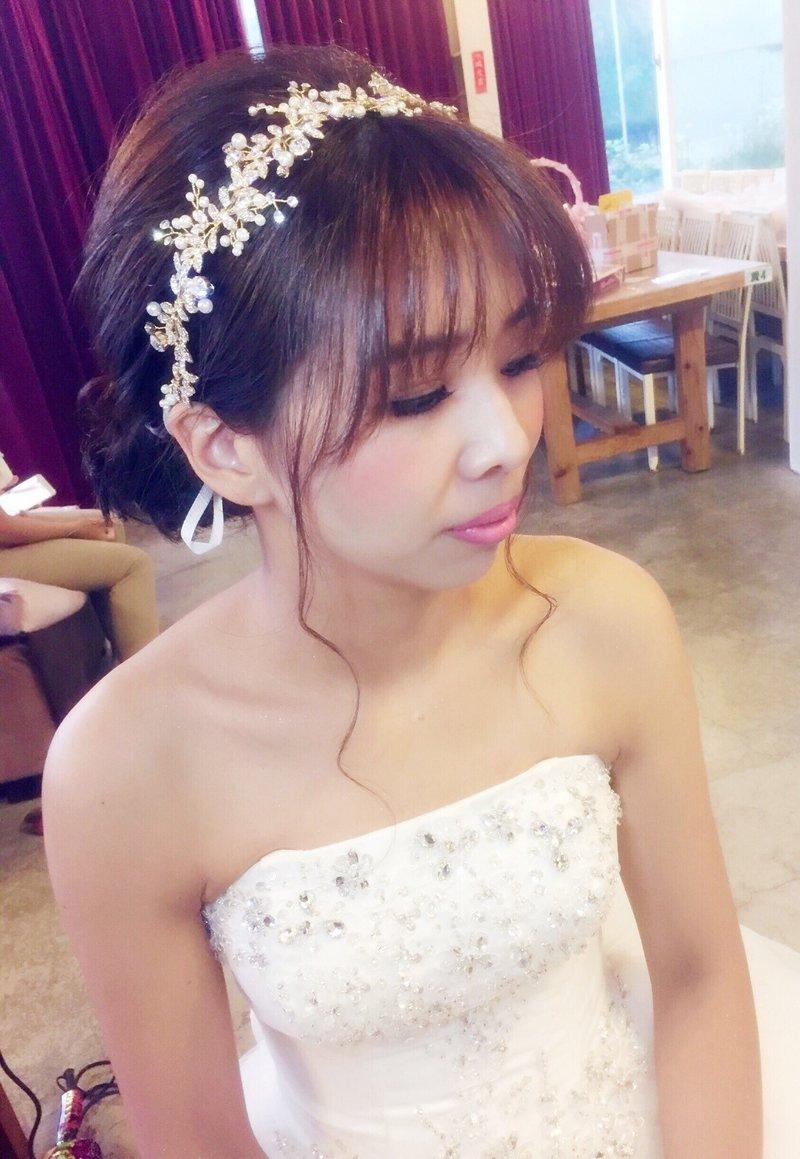 訂婚/結婚.新娘整體造型作品
