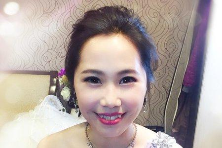 Bride宇~乾燥花敬酒造型
