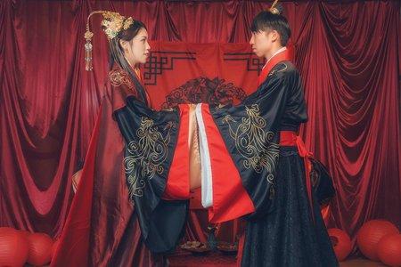 漢服及秀禾新娘造型