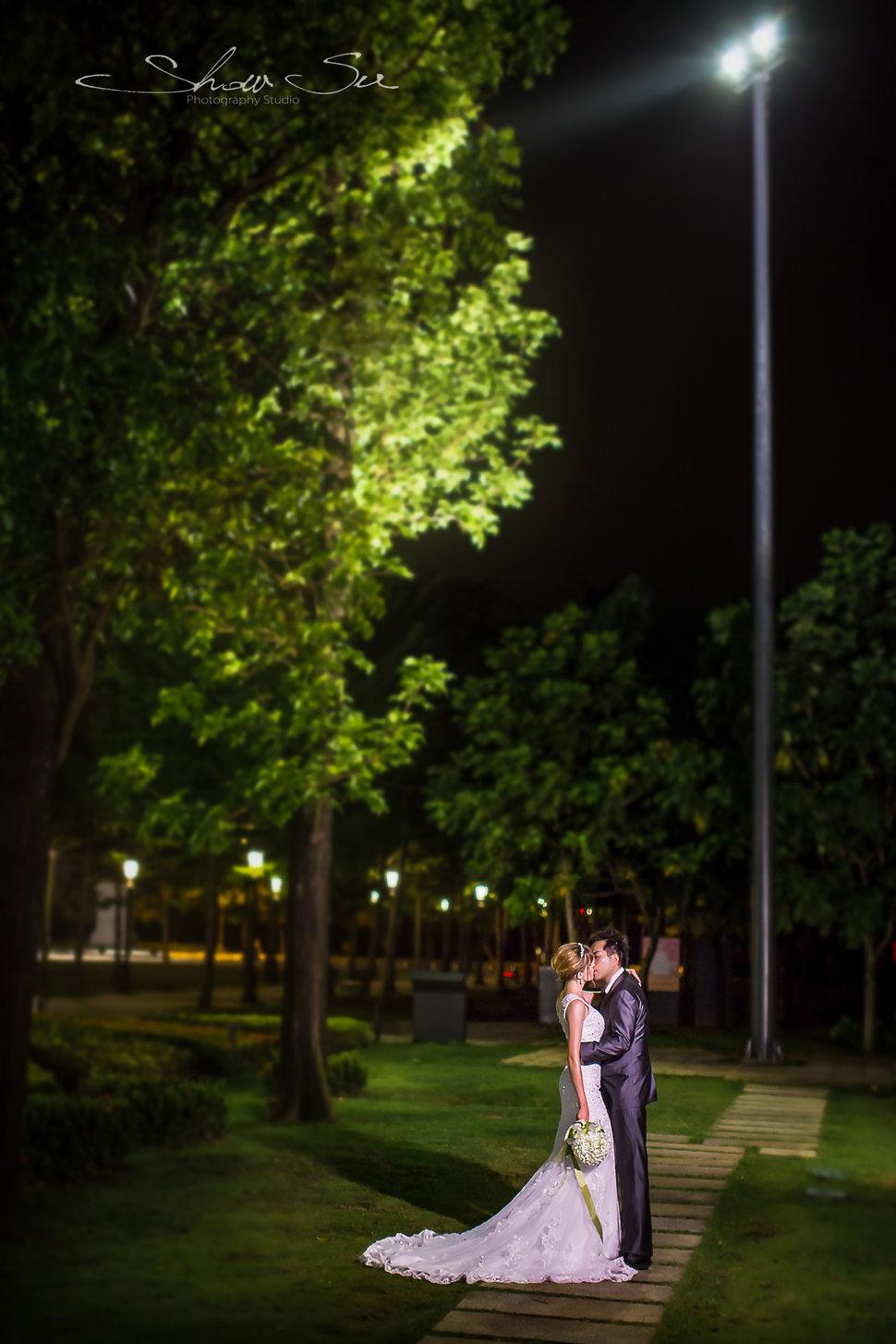 [自助婚紗] Shawn & Melissa│奇美博物館│婚紗攝影│夜景婚紗│銀河婚紗│PRE-WEDDING(編號:436019) - Show Su Photography《結婚吧》