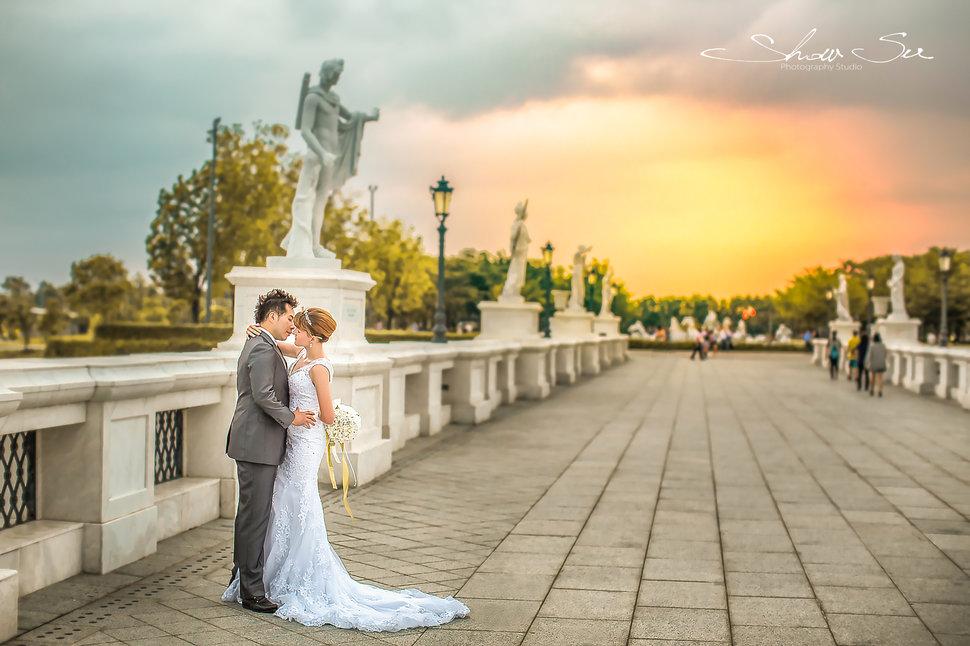 [自助婚紗] Shawn & Melissa│奇美博物館│婚紗攝影│夜景婚紗│銀河婚紗│PRE-WEDDING(編號:436020) - Show Su Photography《結婚吧》
