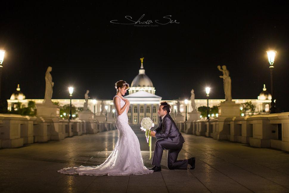 [自助婚紗] Shawn & Melissa│奇美博物館│婚紗攝影│夜景婚紗│銀河婚紗│PRE-WEDDING(編號:436022) - Show Su Photography《結婚吧》