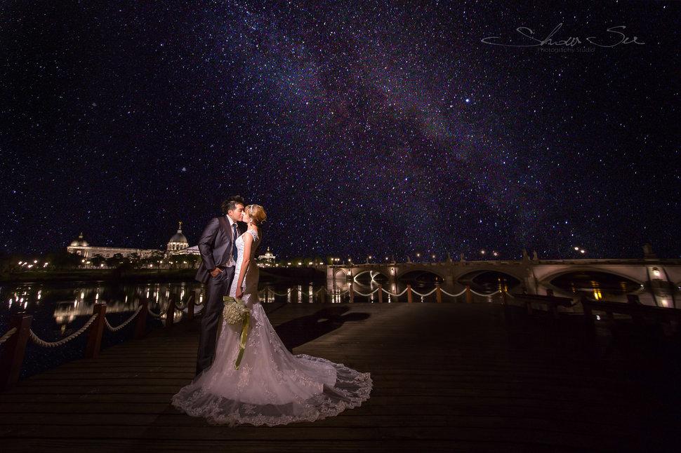 [自助婚紗] Shawn & Melissa│奇美博物館│婚紗攝影│夜景婚紗│銀河婚紗│PRE-WEDDING(編號:436025) - Show Su Photography《結婚吧》