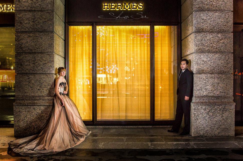 [自助婚紗] Shawn & Melissa│奇美博物館│婚紗攝影│夜景婚紗│銀河婚紗│PRE-WEDDING(編號:436034) - Show Su Photography《結婚吧》