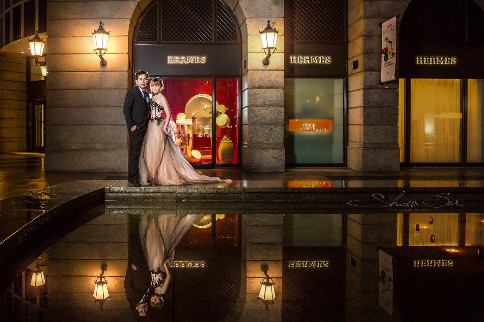 [自助婚紗] Shawn & Melissa│奇美博物館│婚紗攝影│夜景婚紗│銀河婚紗│PRE-WEDDING(編號:436035) - Show Su Photography《結婚吧》