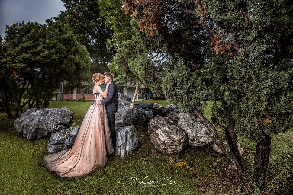 [自助婚紗] Shawn & Melissa│奇美博物館│婚紗攝影│夜景婚紗│銀河婚紗│PRE-WEDDING(編號:436048) - Show Su Photography《結婚吧》