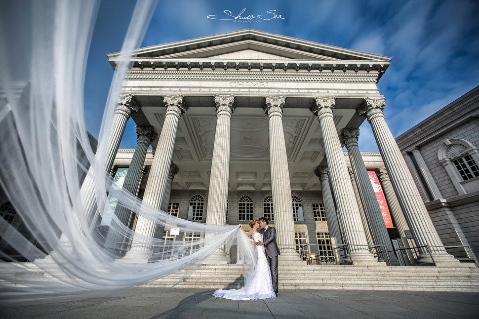 [自助婚紗] Shawn & Melissa│奇美博物館│婚紗攝影│夜景婚紗│銀河婚紗│PRE-WEDDING(編號:484241) - Show Su Photography《結婚吧》