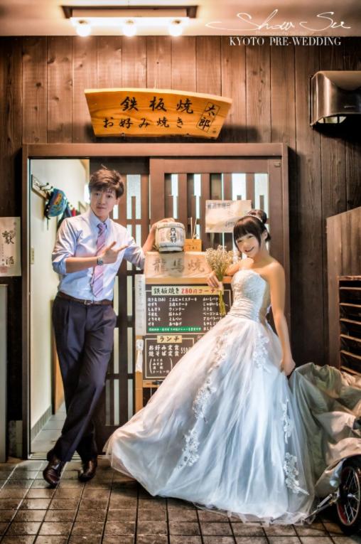 [京都婚紗] Masahiro & Chieh│日本京都│海外婚紗│自助婚紗│婚紗攝影PRE-WEDDING(編號:507402) - Show Su Photography《結婚吧》