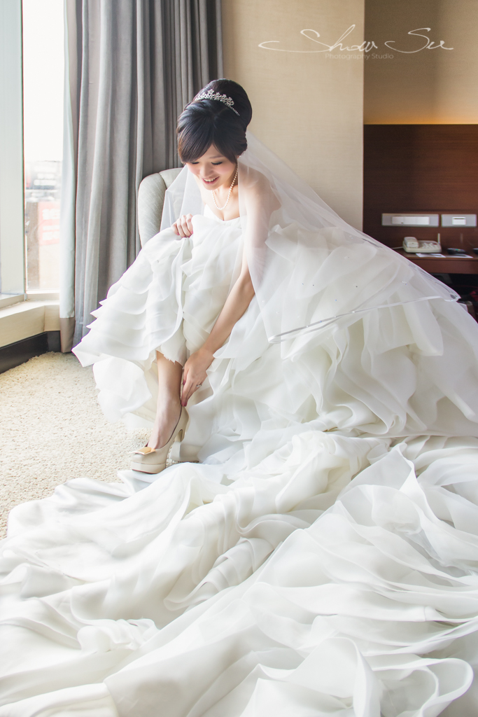 [婚攝] Andy & Ashley│台北@晶華酒店│迎娶午宴(編號:514072) - Show Su Photography《結婚吧》