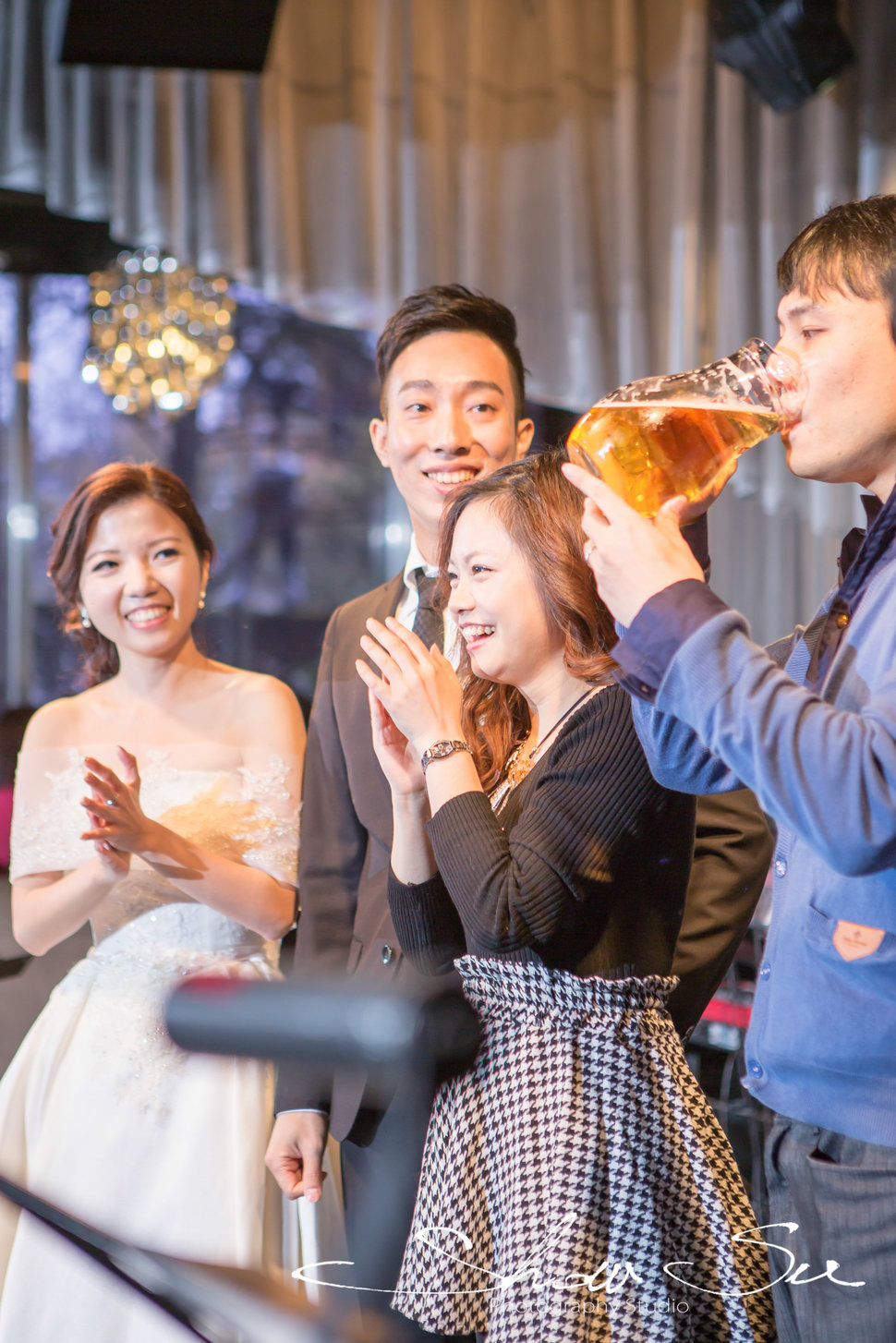 [婚攝] Carlton & Cynthia│Taipei Brown Sugar黑糖餐廳@Before Party(編號:553949) - Show Su Photography - 結婚吧
