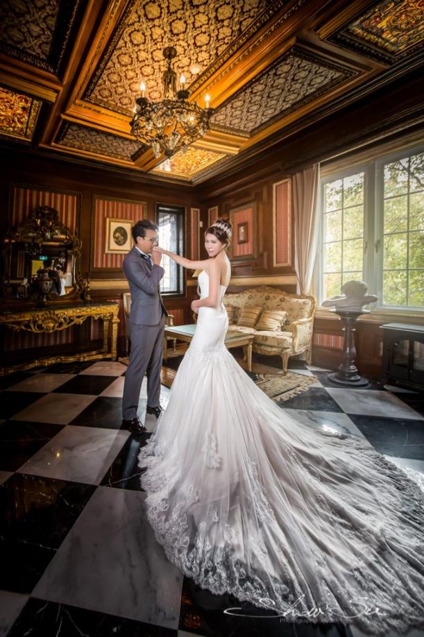[自助婚紗] 文豪 & 欣潔│清境@老英格蘭莊園 自助婚紗│PRE-WEDDING(編號:562432) - Show Su Photography - 結婚吧